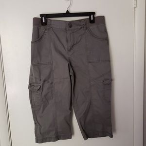 Lee Relaxed Fit Cargo Capri Size 12